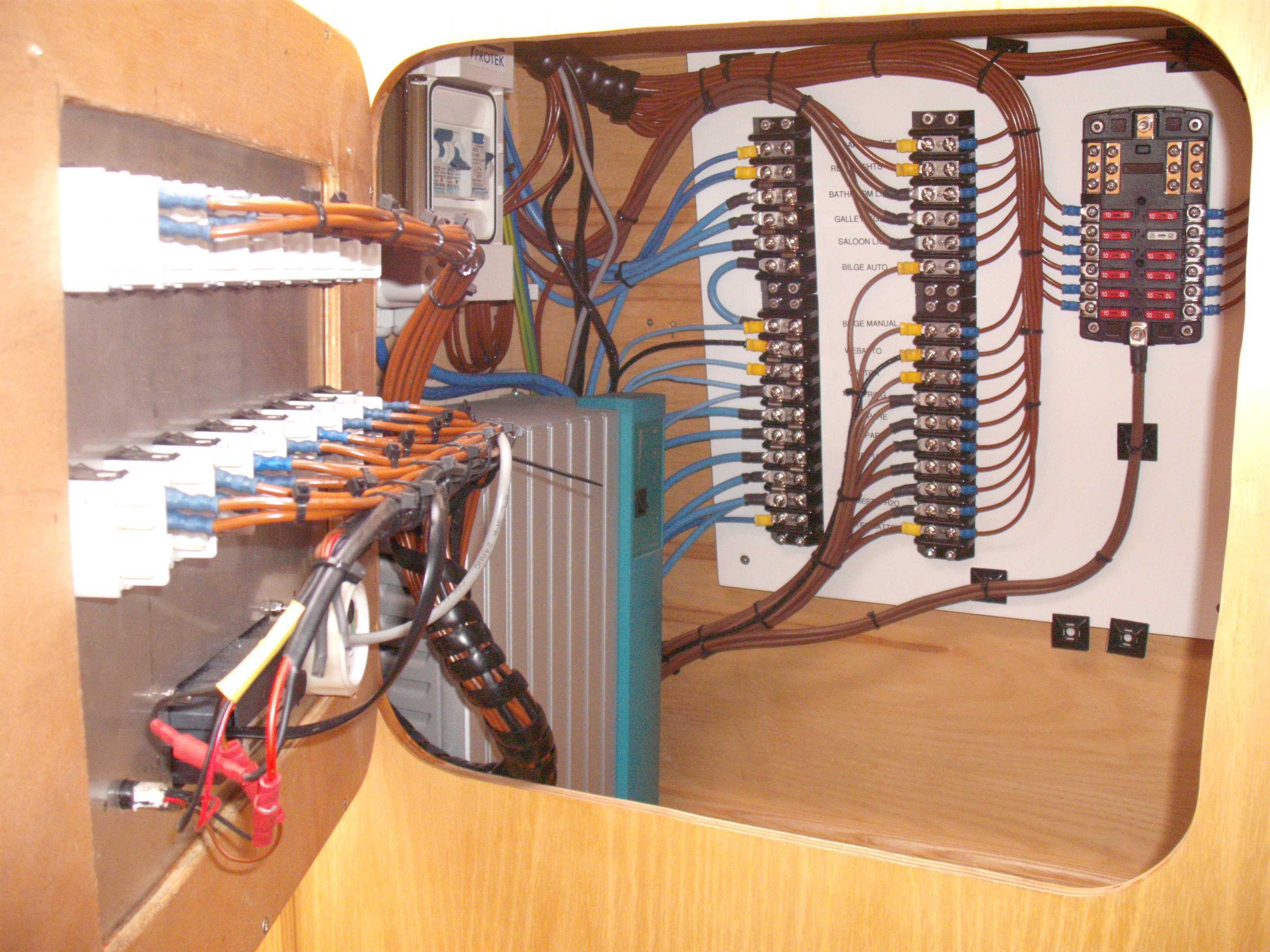 12v Or 240v Wiring  - Boat Building  U0026 Maintenance
